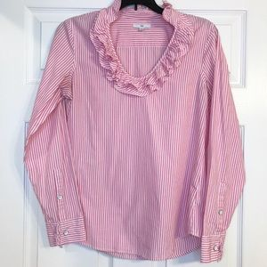 Gap Ruffle Blouse